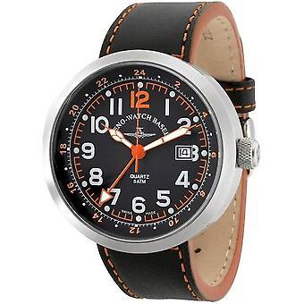 Zeno-Watch Herrenuhr Rondo (Dual Time) B554Q-GMT-a15