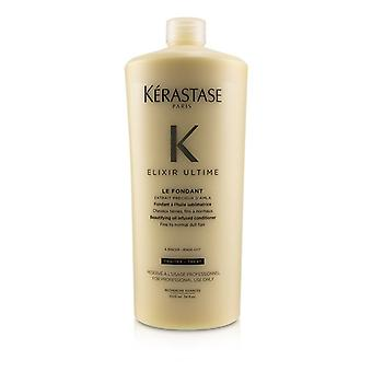 Kerastase Elixir Ultime Le Fondant Beautifying Oil Infused Conditioner (fine To Normal Dull Hair) - 1000ml/34oz