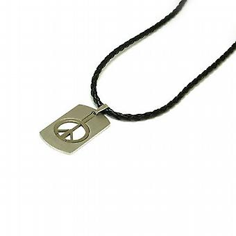 The Olivia Collection Stainless Steel Cut Out Dog Tag  18