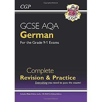 New GCSE German AQA Complete Revision & Practice (with CD & Online Ed