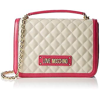 Love Moschino Bag Quilted Nappa Pu Hand Woman Pink (Fuxia) 6x19x28 cm (W x H x L)