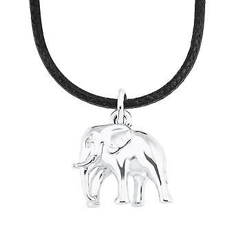 s.Oliver Jewel Kinder und Jugendliche Kette Silber Nylon Elefant 2026059