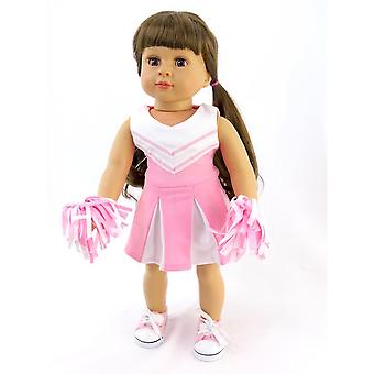 Pink Cheerleading Outfit for 18 Inch Dolls