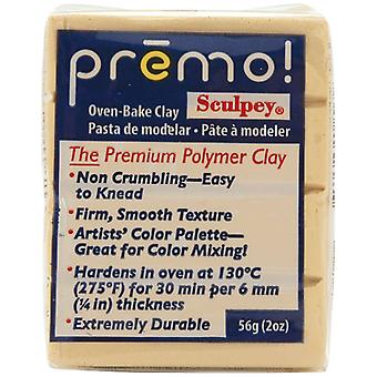 Premo Sculpey Polymer Clay 2 Ounces Ecru Pe02 5093