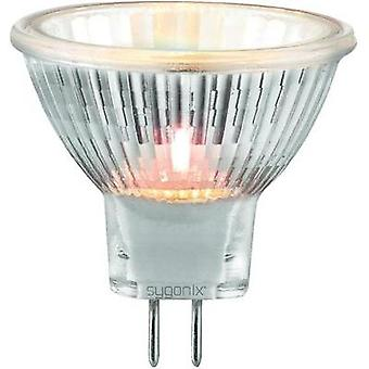 HV halogen 35 mm sygonix 12 V G4 35 W Warm white EEC: C Reflector bulb dimmable 3 pc(s)