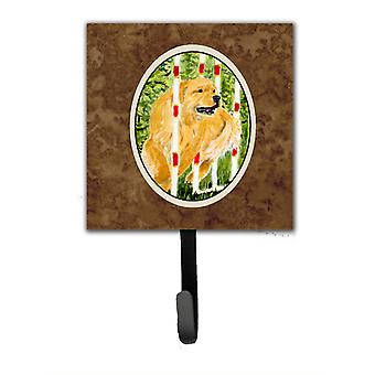 Golden Retriever Leash Holder or Key Hook