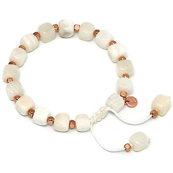 Lola Rose Justina Bracelet White Sea Shell marbre