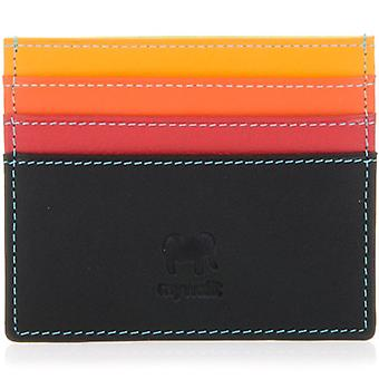 Mywalit Black-Pace Leather Card Holder