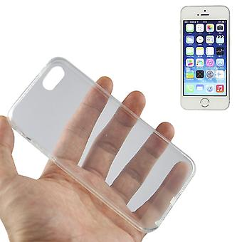 Apple iPhone 5 / 5 s transparent case couvercle silicone