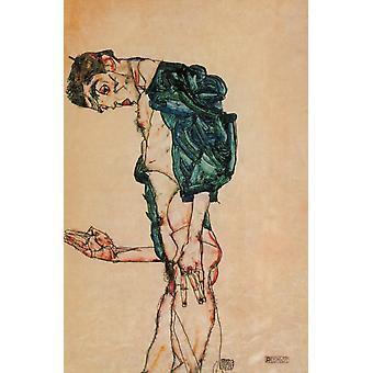 Preacher 1913 Poster Print by  Egon Schiele