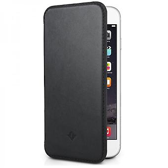 Twelve South SurfacePad Real Leather Wallet Case for Apple iPhone 6 Plus black