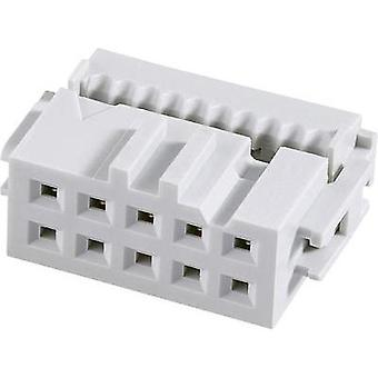 Pin connector Contact spacing: 2.54 mm Total number of pins: 6 FCI 1 pc(s)