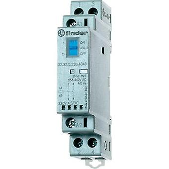 1 pc(s) 22.32.0.230.1440 Finder 2 breakers 230 Vdc, 230 Vac 25 A