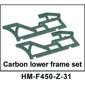 Carbon Lower Frame Set