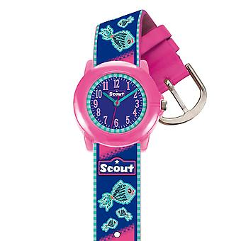 Scout Children clock learning clock Crystal - Fish Girls 280305010