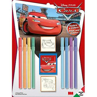 Multiprint Stamps Blister 2 Cars