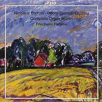 Bruhns/Leyding - Bruhns, Leyding: Complete Organ Works [SACD] USA import