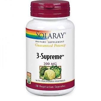 Solaray 3-Supreme 200 mg 30 Capsules
