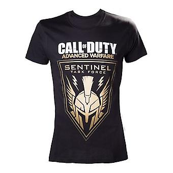 CALL OF DUTY Advanced Warfare Sentinel Task Force Large T-Shirt Black (TS26F4AWA-L)
