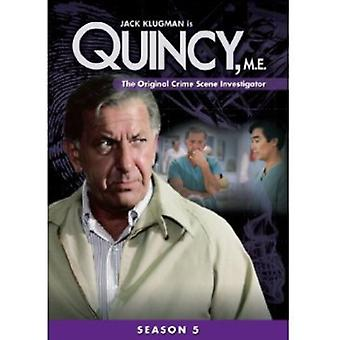 Quincy Me: Season 5 [DVD] USA import