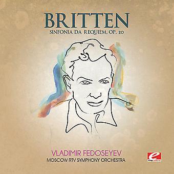 B. Britten - Britten: Sinfonia Aa Requiem, Op. 20 [CD] USA import