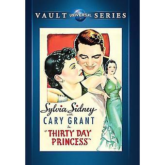 Dreißig Tage Prinzessin [DVD] USA import