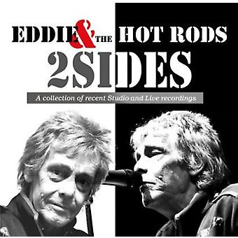 Eddie & Hot Rods - 2 sider [CD] USA importerer