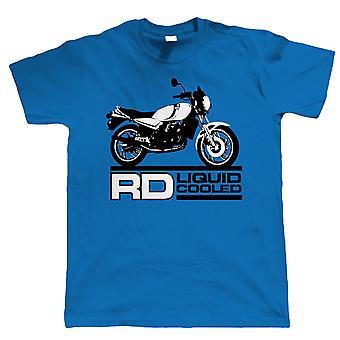 Vectorbomb, RD 350 250 raffreddato a liquido di LC, Mens Biker T Shirt (S alla 5XL)