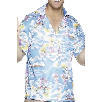 Hawaiian shirt, blå