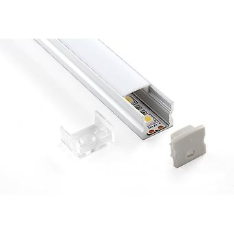 Teucer LED Al2 Surface LED Tape Profile
