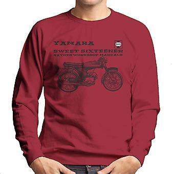 Haynes Owners Workshop Manual Yamaha Sixteener Special Men's Sweatshirt