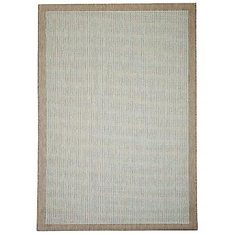 Outdoor carpet for Terrace / balcony of Essentials chrome Aqua 200 / 290 cm carpet indoor / outdoor - for indoors and outdoors