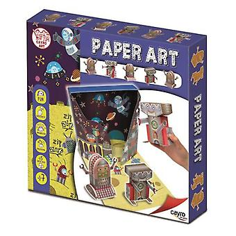 Cayro Paper Art Robots (Toys , Educative And Creative , Arts And Crafts , Origami)