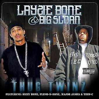 Layzie knogle & Big Sloan - Thug tvillinger [CD] USA importerer