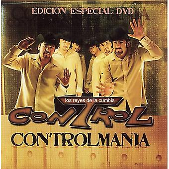 Kontrol - Controlmania [CD] USA importerer