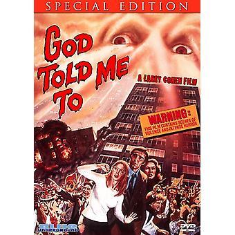 Gud fortalte mig at [DVD] USA importerer