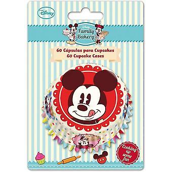 Mickey Mouse bagning kopper til Cupcakes sæt 60 familie Disney kage Design
