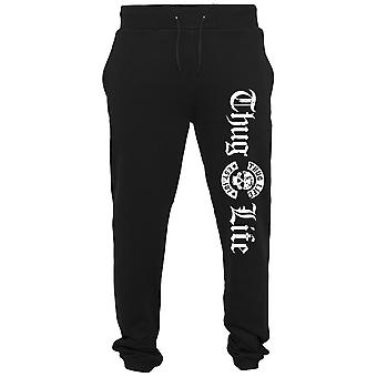 Thug Life old English Sweatpants black