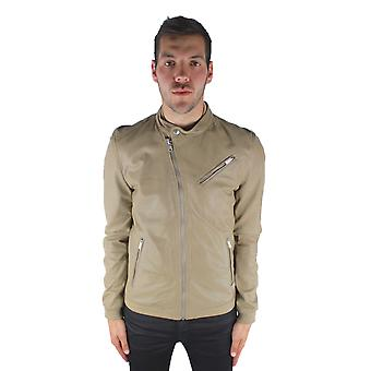 Diesel Lohar-R 7BH Leather Jacket