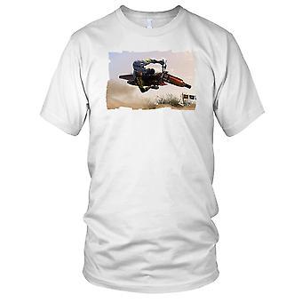 Offroad Stunt Motorbike Tabletop Stunt Kids T Shirt