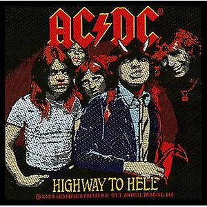AC/DC Highway to Hell sew-on cloth patch   (ro)