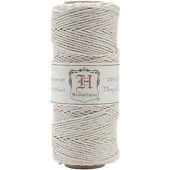 Hemp Cord Spool 20# 205 Feet Pkg White Hs20 Wht