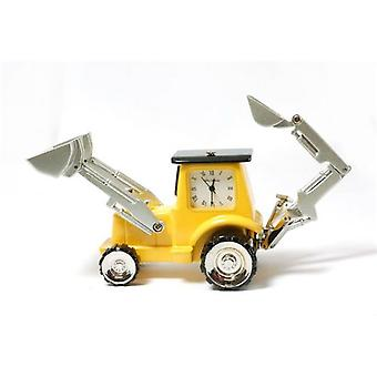 Miniature JCB Digging Novelty JCB Digging Truck Ornamental Collectors Clock 9682