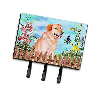 Carolines Treasures  CK1276TH68 Labrador Retriever Spring Leash or Key Holder