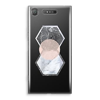 Sony Xperia XZ1 Transparant Case - Creative touch