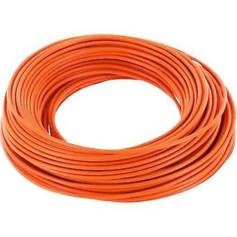 Jumper wire 1 x 0.20 mm² Orange BELI-BECO D 105/1