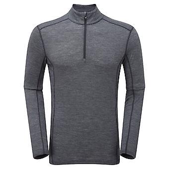 Montane Mens Primino 140g Zip Neck T-Shirt