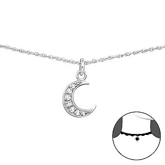Moon - 925 Sterling Silver Chokers