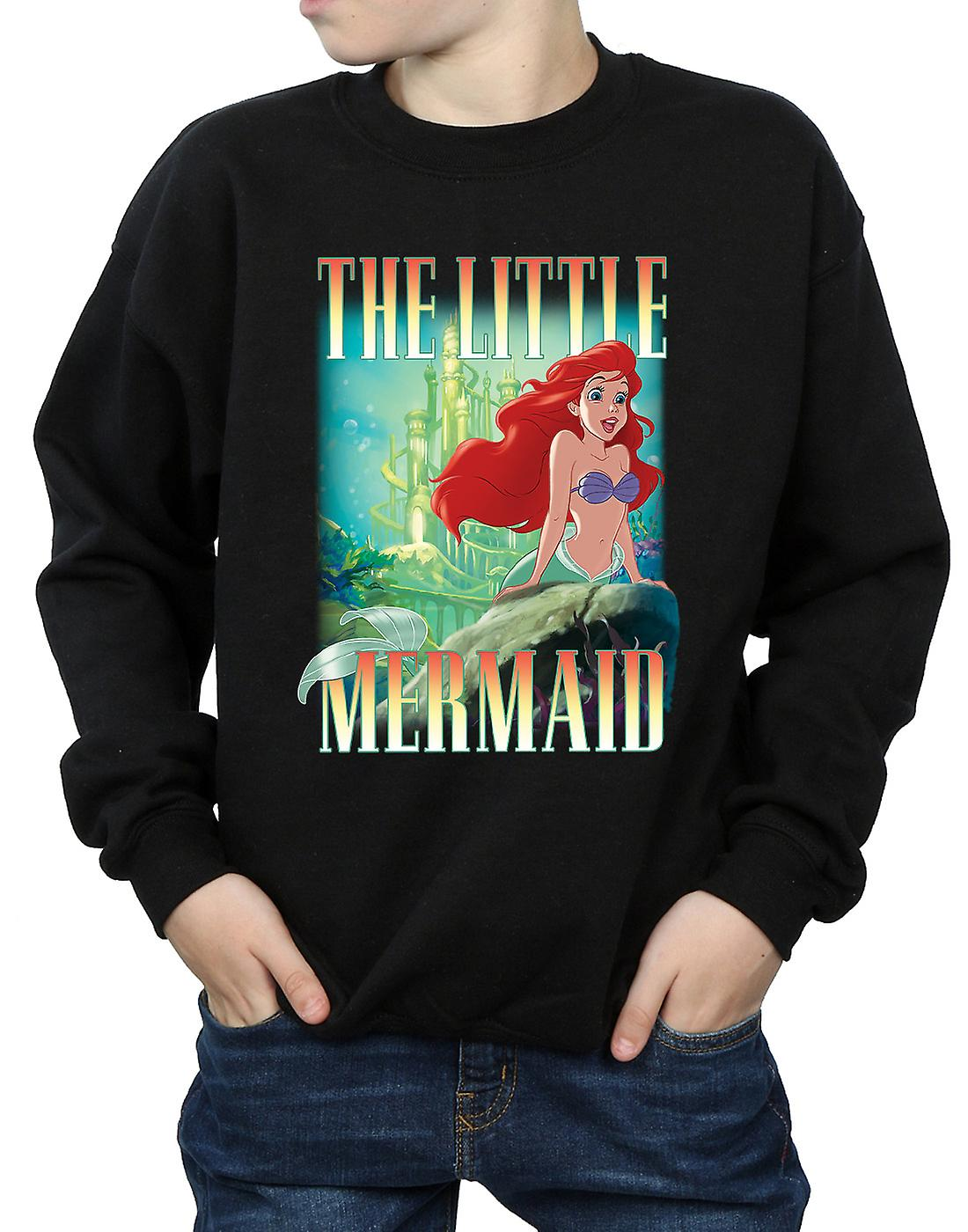 Ragazzi Disney la Sirenetta Ariel Montage Sweatshirt