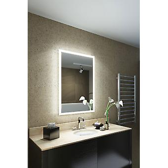 RGB Shaver LED Bathroom Mirror with Demister pad & sensor K8401vrgb